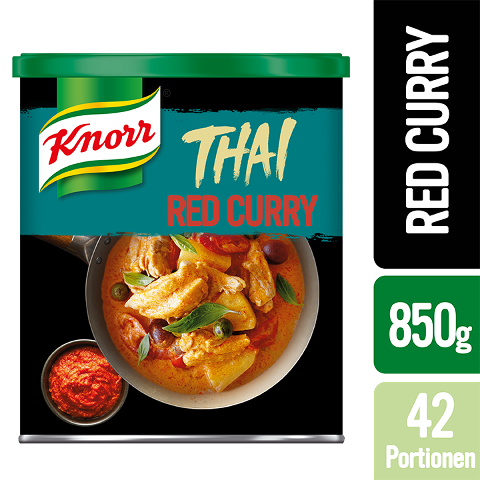 Knorr Thai Red Curry Paste 850 g - Authentische Produkte mit Zutaten aus Thailand.