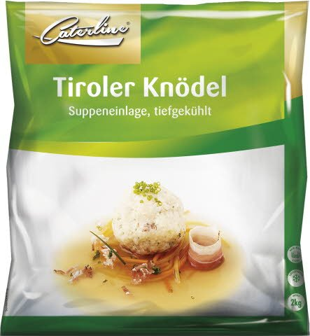 Caterline Tiroler Knödel 2 KG (50 Stk. á ca. 40 g)