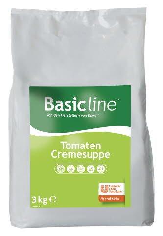 Basic Line Tomaten Cremesuppe für Suppe & Sauce 3 KG -