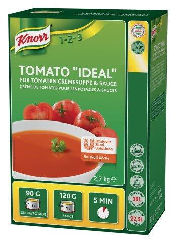 """Knorr Tomato """"Ideal"""" für Tomaten Cremesuppe & Sauce 2,7 KG -"""