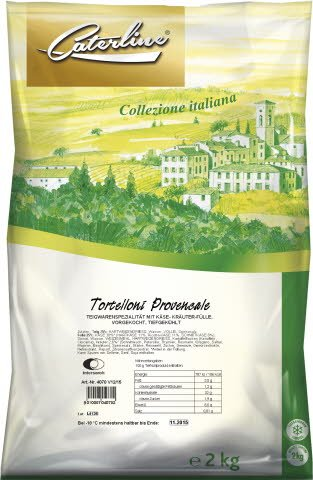 Caterline Tortelloni Provencale 2 KG -