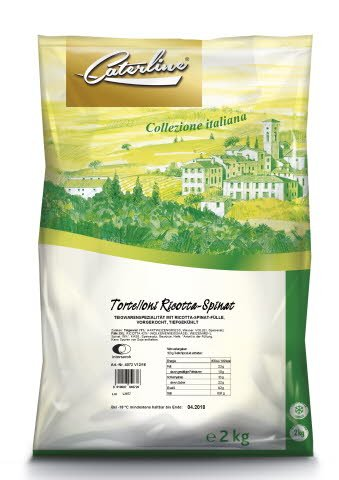 Caterline Tortelloni Ricotta Spinat 2 KG -