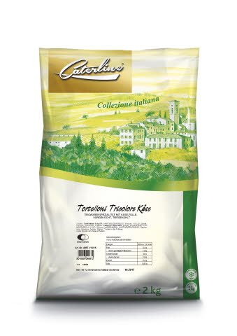 Caterline Tortelloni tricolore Käse 2 KG -