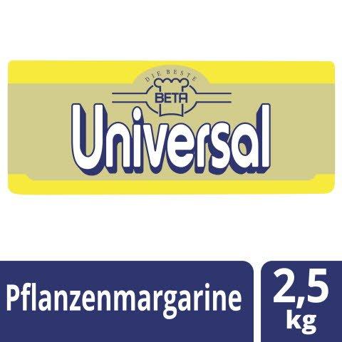 Beta Universal Pflanzenmargarine 80% Fett 2,5 KG