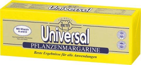 Beta Universal Pflanzenmargarine 2.5kg -