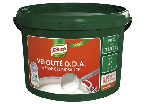 Knorr Velouté Weisse O.D.A. Grundsauce 2 KG