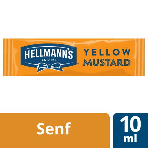 Hellmann's Yellow Mustard 198x10ml -