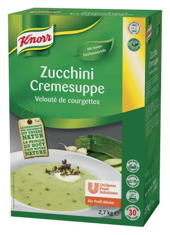 Knorr Zucchini Cremesuppe 2,7 KG -