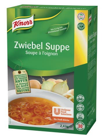 Knorr Zwiebel Suppe 2,4 KG