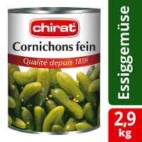 Chirat Cornichons fein 2,9 KG -