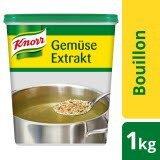 Knorr Gemüse Extrakt Bouillon mit Kräutern 1 KG - KNORR Gemüse Extrakt - für mehr Gemüsegeschmack.