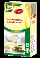 """Knorr Sauce Hollandaise 1 L - Für den erstklassigen Geschmack verwende ich nur die Beste."""" Norbert Schwery, Gaumenzauber, Brig."""