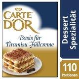 Carte D'or Basis für Tiramisu-Füllcreme 1,8 KG