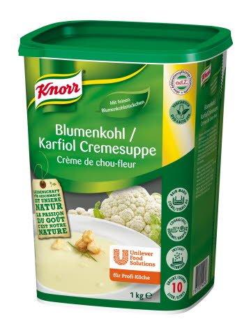 Knorr Blumenkohl / Karfiol Cremesuppe 1 KG