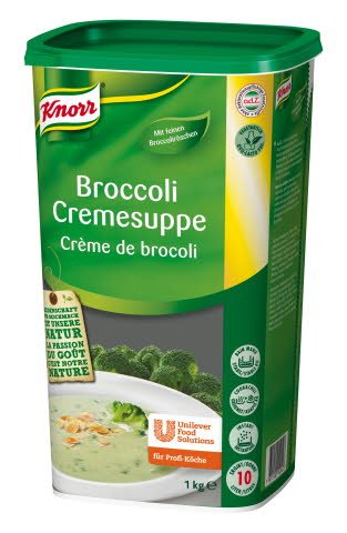 Knorr Broccoli Cremesuppe 1 KG