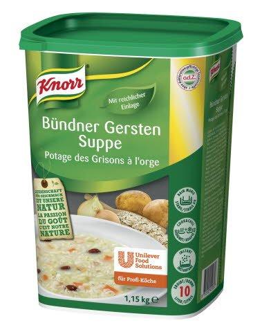 Knorr Bündner Gersten Suppe 1 x 1,15 KG