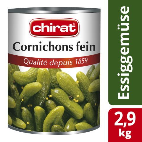 Chirat Cornichons fein 2,9 KG
