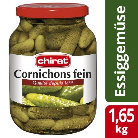 Chirat Cornichons fein 1,65 KG