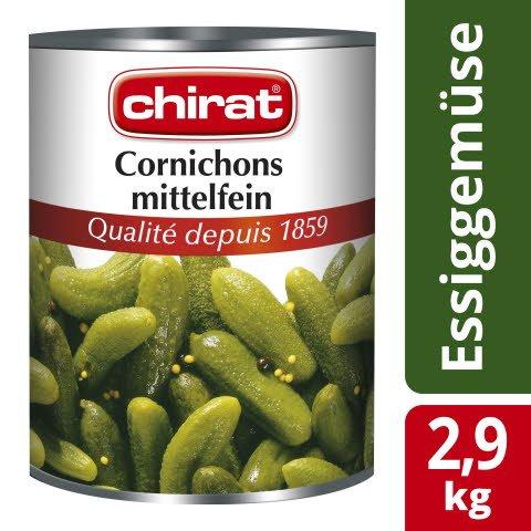 Chirat Cornichons mittelfein 2,9 KG