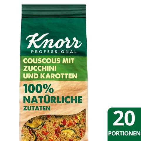 Knorr Couscous mit Zucchini und Karotten 100% natürliche Zutaten 610g -