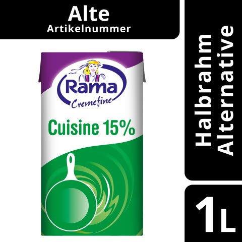 Rama Cremefine Cuisine - leichte Alternative zu Rahm auf Pflanzenölbasis 1 L