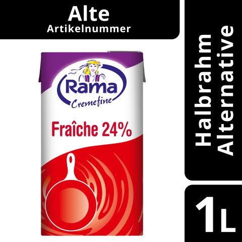 Rama Cremefine Fraîche - Alternative zu Crème Fraîche auf Pflanzenölbasis 1 L