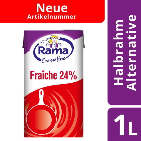 Rama Cremefine Fraiche 24% Fett 1L