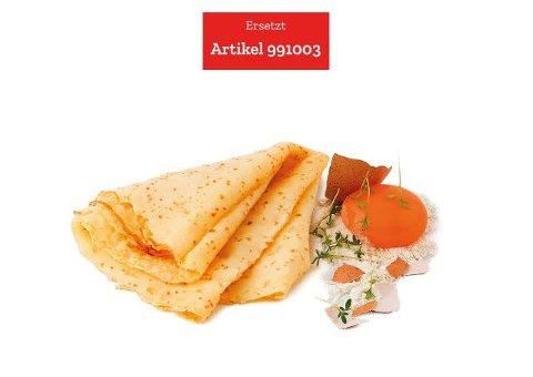 Caterline Crêpes / Palatschinken 2,8 KG (40 x ca. 70 g) -