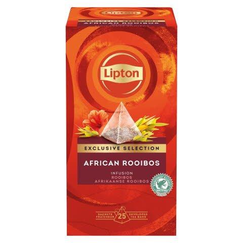 Lipton Afrikanischer Rooibos Kräutertee Pyramid 25 Beutel