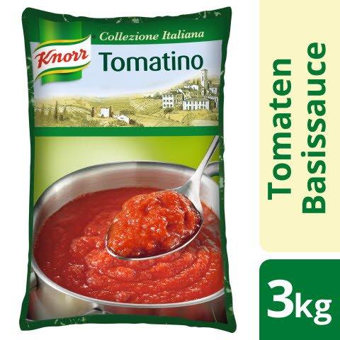 Knorr Tomatino Tomatensauce passiert Beutel 3 KG