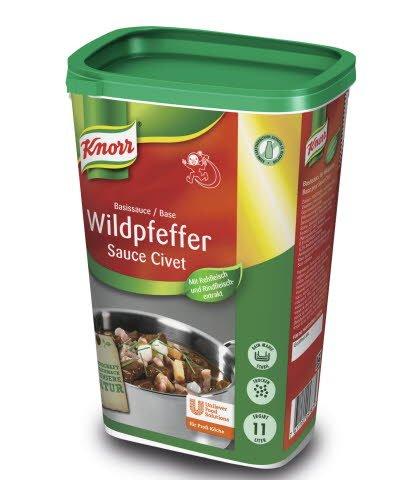Knorr Wildpeffer Basis Sauce 1,1 kg