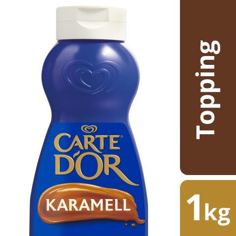 Carte D'or Dessert Topping Karamell 1 KG