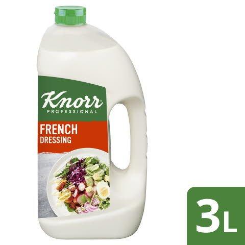 Knorr French Dressing 3 L - KNORR French Dressing. Geschmack, dem man vertraut.