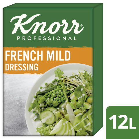 Knorr French Dressing mild 12 L -