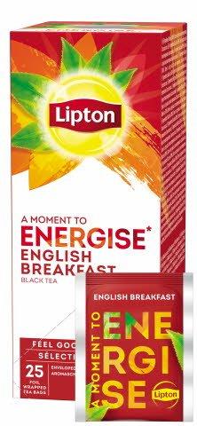 Lipton English Breakfast Schwarztee 25 Beutel