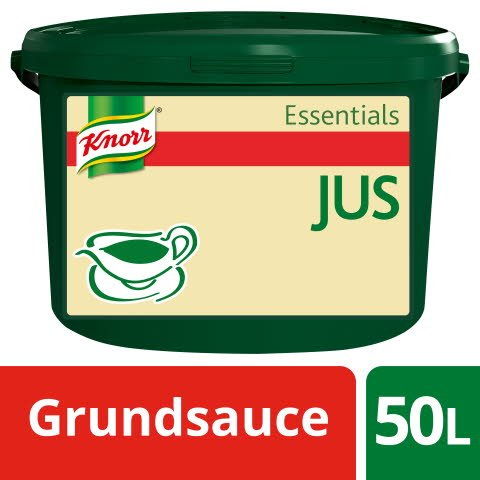 Knorr Essentials Clean Label Sauce Base Jus (Jus zu Braten) 3 kg
