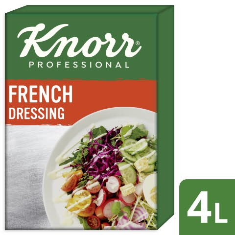 Knorr French Dressing 4 L
