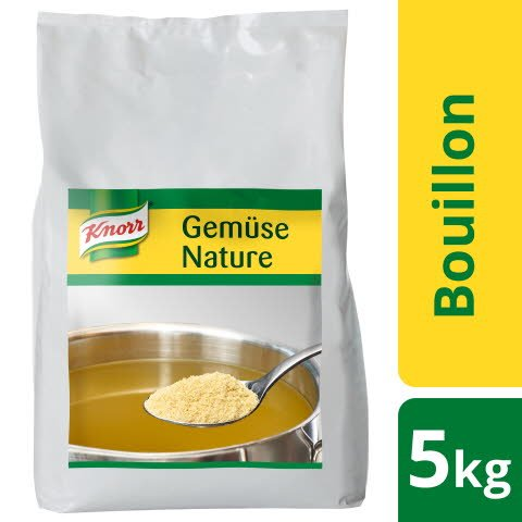 Knorr Gemüse Bouillon Nature 5 KG -