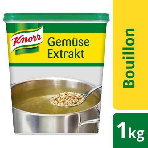 Knorr Gemüse Extrakt Bouillon mit Kräutern 1 KG
