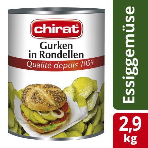 Chirat Gurken in Rondellen 2,9 KG -