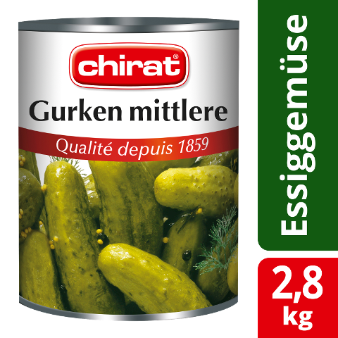 Chirat Gurken mittlere 2,8 KG