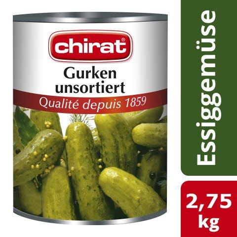Chirat Gurken unsortiert 2,75 KG