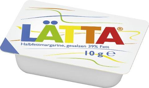 Laetta Halbfettmargarine, gesalzen 39% Fett 100x10g