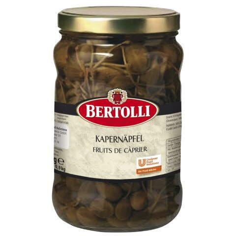 Bertolli Kapernäpfel 1,5 KG