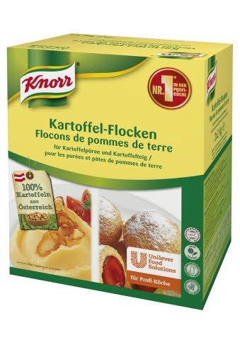 Knorr Kartoffelflocken für Püree und Teig 4 KG (2x2 KG)