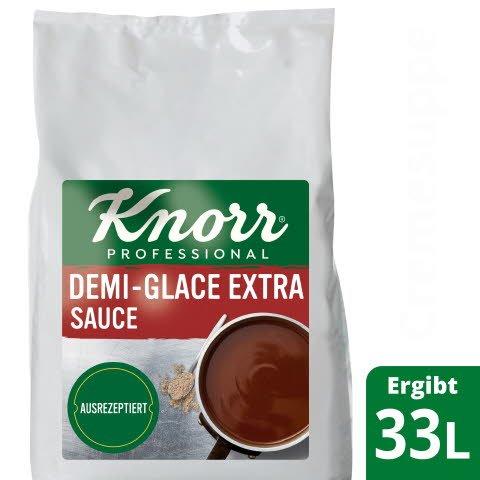 KNORR Demi Glace Extra 2 X 4KG - Wenige Handgriffe – authentischer und aus balancierter Geschmack.