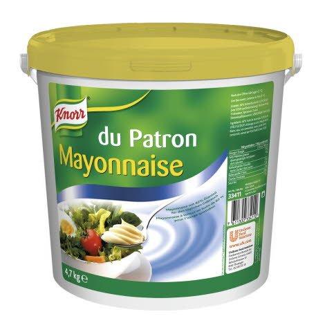 Knorr Mayonnaise du Patron 82% Fett 4,7 KG