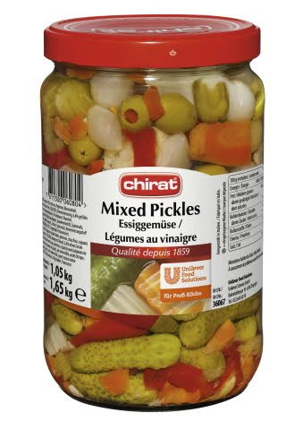 Chirat Mixed Pickles 1,65 KG