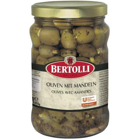 Bertolli Oliven mit Mandeln 1,5 KG