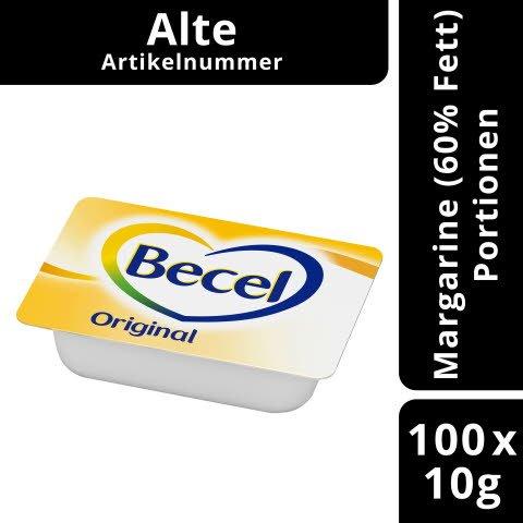 Becel Original Fettreduzierte Margarine 60% Fett 100 x 10 g - neue Artikelnummer 70497